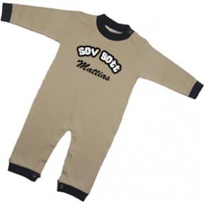 """Pyjamas med """"Sov Gott"""" och namn"""