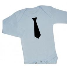 Body med enfärgad slips