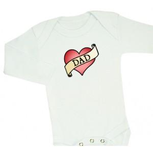 DAD-body (svart/vit)
